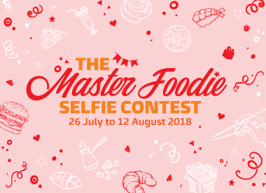 The Master Foodie Selfie Contest