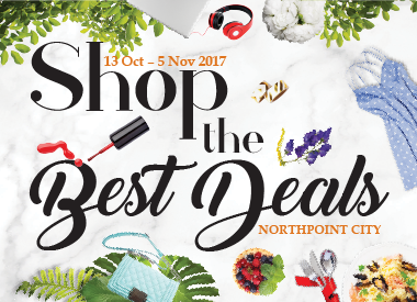 Shop Till You Drop at Northpoint City