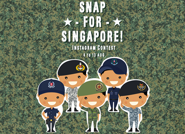 Snap For Singapore! Instagram Contest