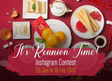 It's Reunion Time! Instagram Contest
