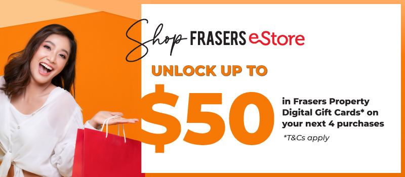 Unlock Rewards PLUS Free Delivery on Frasers eStore